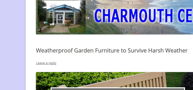 Charmouth all weather furniture
